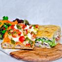 1 Focaccia + 1 Salade + 1 Part de Pizza